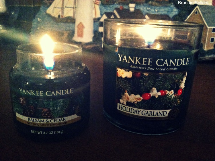 Yankee X-mas candles