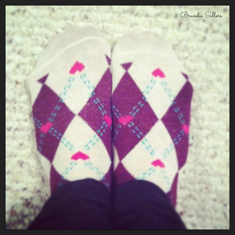 heart socks '14