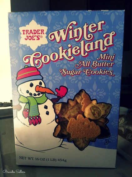TJ's Winter Cookieland Cookies