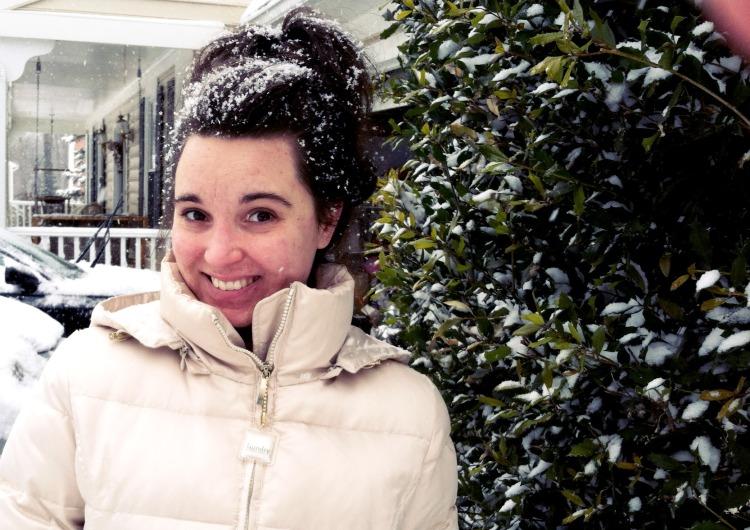 Brandie Snow Day in March