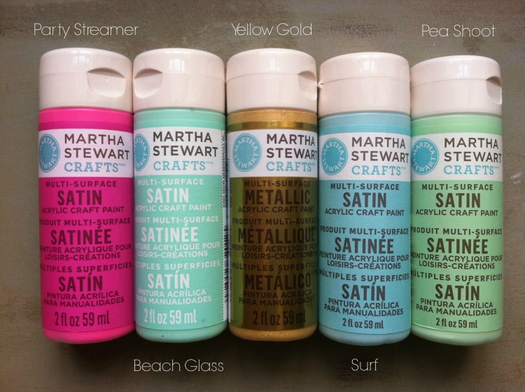 Martha Stewart Paint Colors