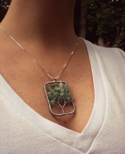 Aventurine Tree of Life Necklace
