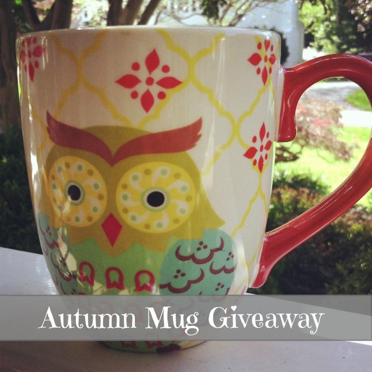 Autumn Mug Giveaway
