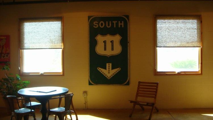 Route 11 signage
