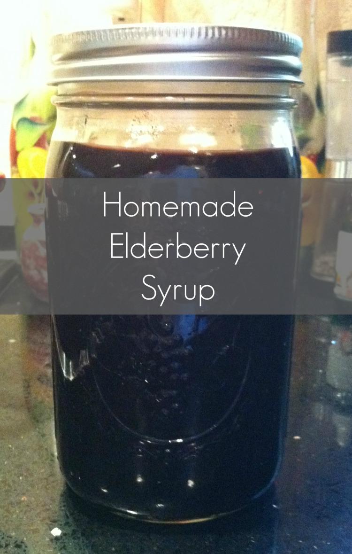 Homemade Elderberry Syrup