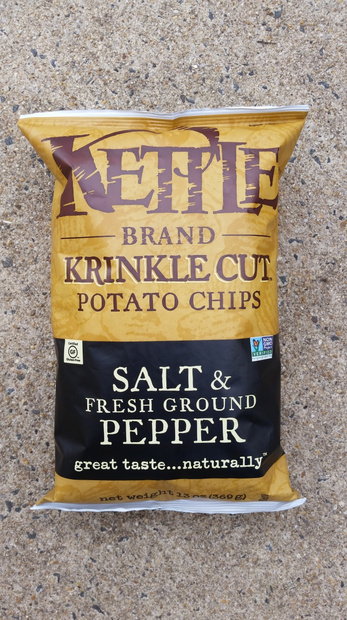 Kettle Salt & Pepper Chips