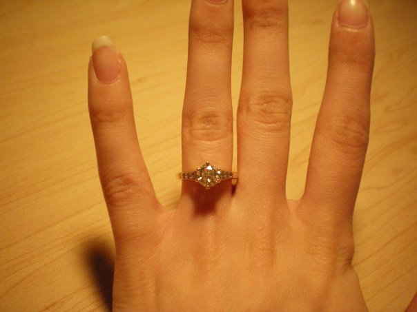 Brandie's engagement ring