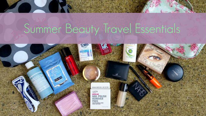 My Beauty Travel Essentials