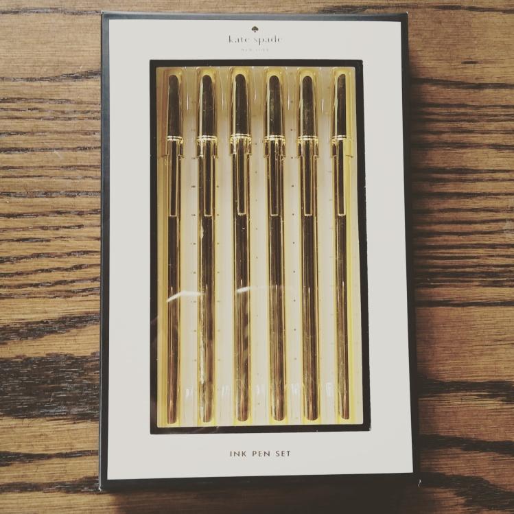 Kate Spade Gold Pens | brandie-sellers.com