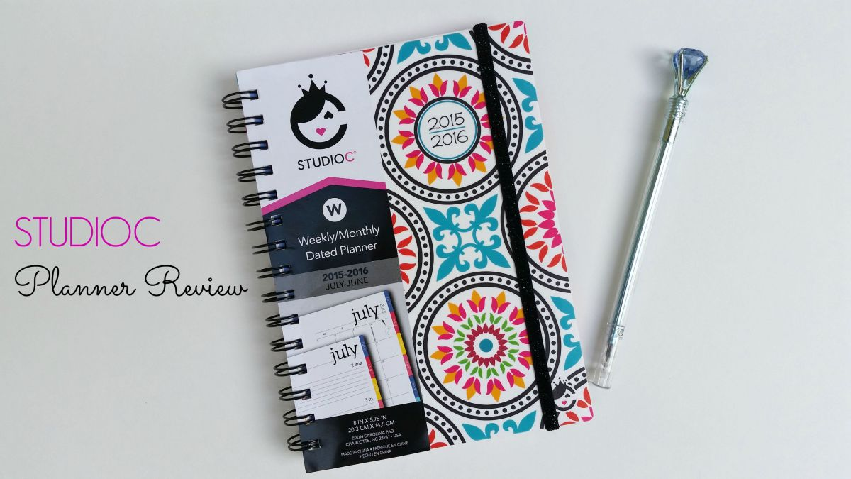 STUDIOC Planner Review + GIVEAWAY (closed)