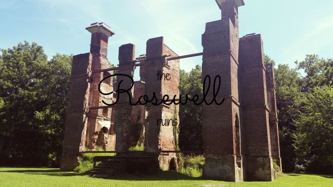 the rosewell ruins