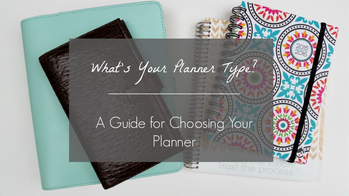 What's Your Planner Type? | Planner Week + GIVEAWAY & Coupon Code (closed)