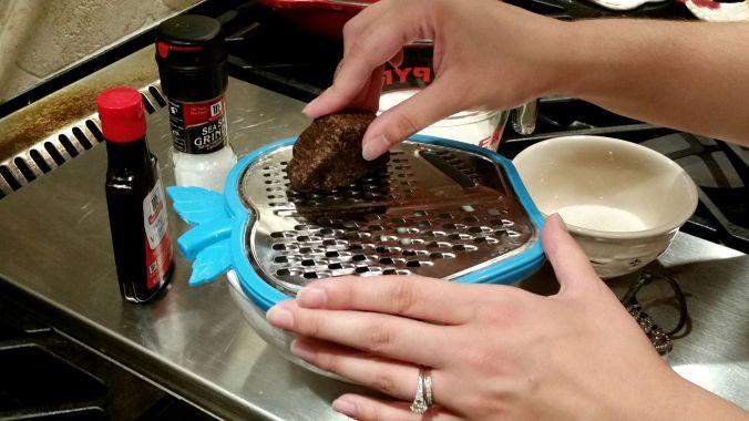 Homemade Hot Chocolate  shaving chocolate  brandie-sellers.com