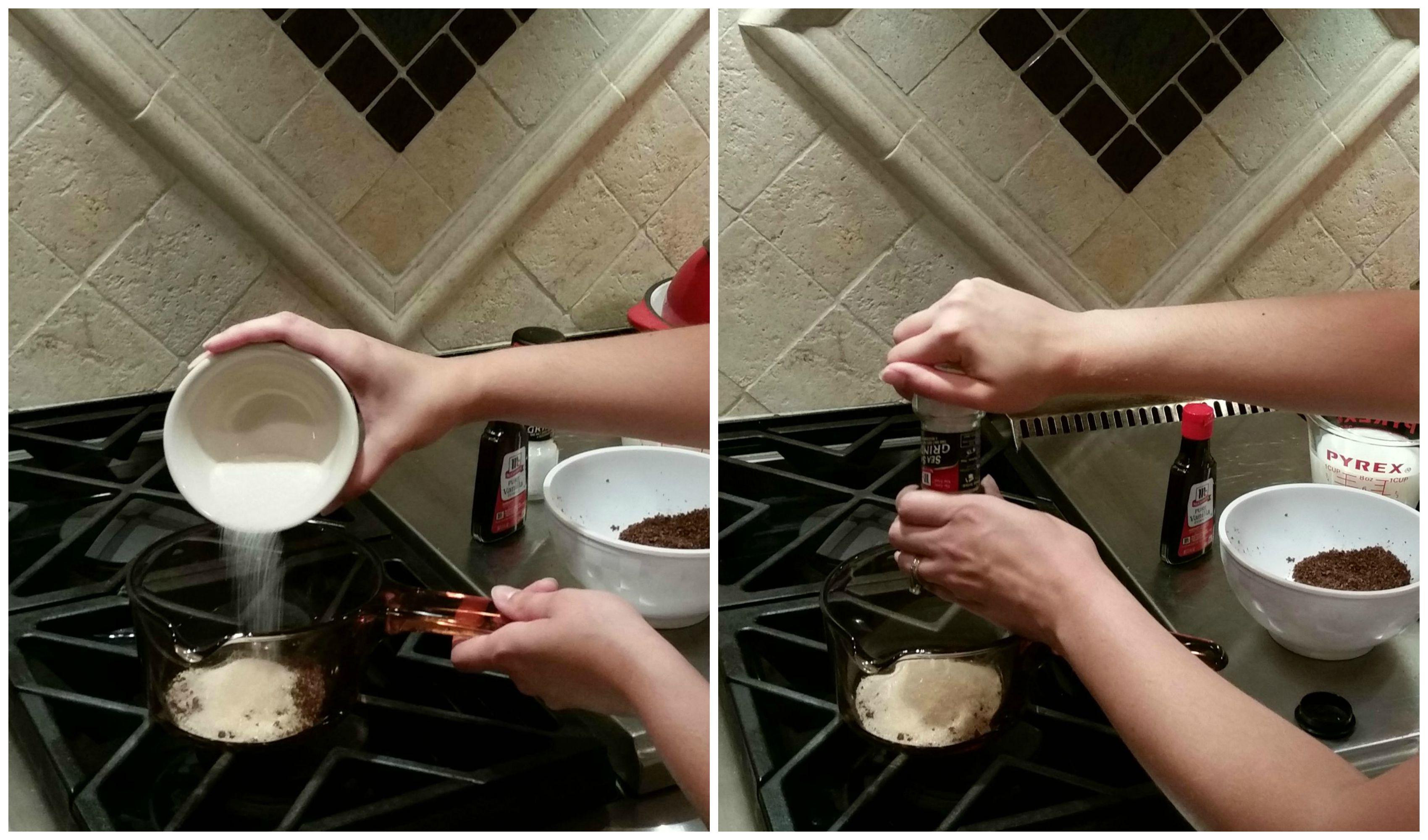 Homemade Hot Chocolate Using A Bakers Chocolate Block -7691