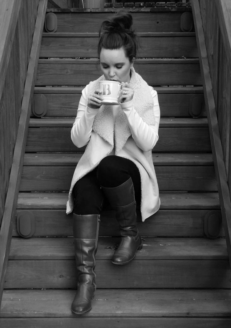 Tea Black and white 1